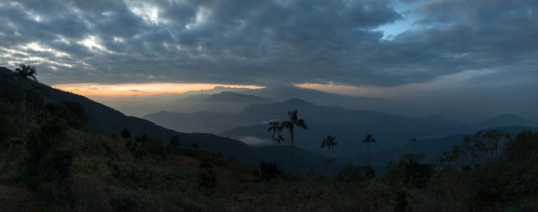 Sunset, Minca, Colombia