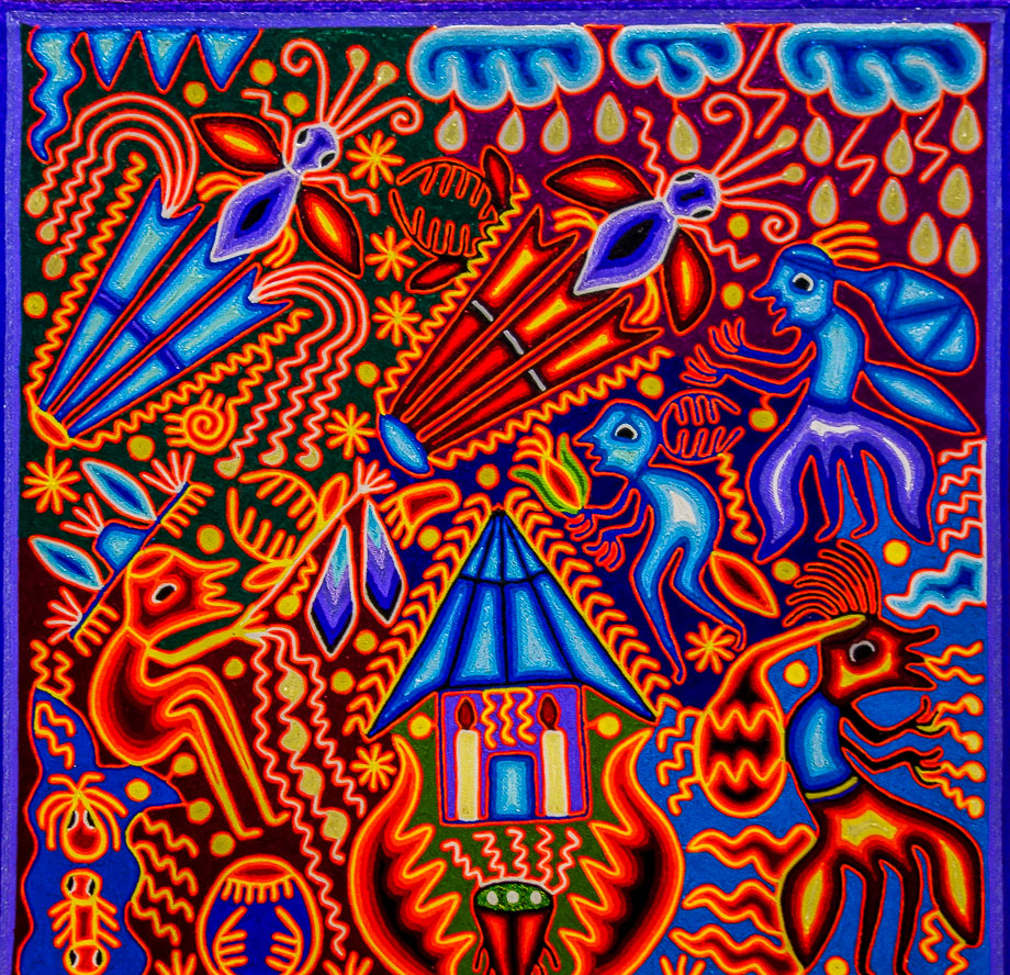 Mexican Art - Huichol ...